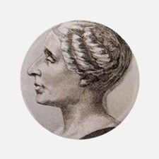 "Sophie Germain (1776- 1831) 3.5"" Button"