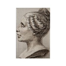 Sophie Germain (1776- 1831) Rectangle Magnet