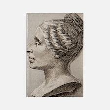 Sophie Germain (1776- 1831) Rectangle Magnet