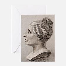 Sophie Germain (1776- 1831) Greeting Card