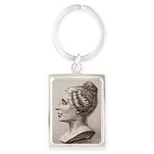 Sophie Germain (1776- 1831) Portrait Keychain