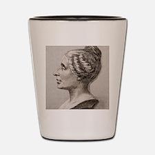 Sophie Germain (1776- 1831) Shot Glass