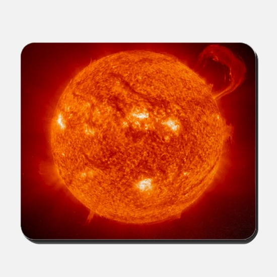 Solar prominence Mousepad