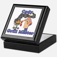 Grill Master Cody Keepsake Box