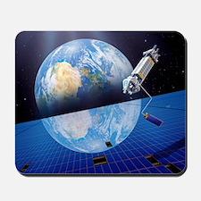 Solar power satellite, artwork Mousepad