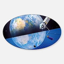 Solar power satellite, artwork Decal