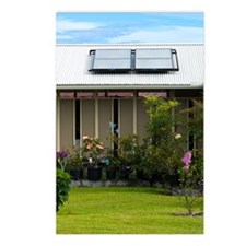 Solar water heater Postcards (Package of 8)