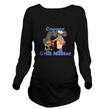 Grill Master Cooper Long Sleeve Maternity T-Shirt