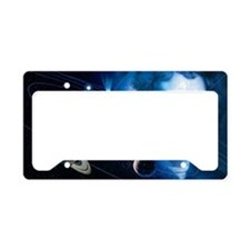 Solar system and Nicolaus Cop License Plate Holder