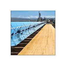 "Solar power plant, Californ Square Sticker 3"" x 3"""