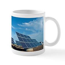 Solar park, Ciudad Real, Spain Mug
