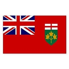 Ontario Flag Rectangle Decal