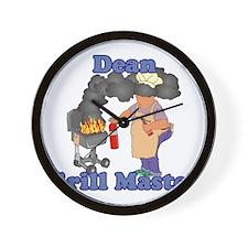 Grill Master Dean Wall Clock