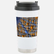 Sodium chloride lattice Stainless Steel Travel Mug