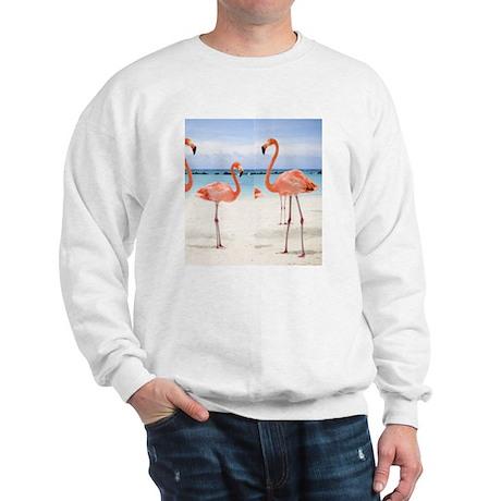 Flamingo Flip Flops Sweatshirt