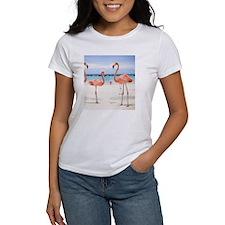 Flamingo Flip Flops Tee
