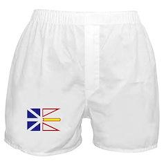 Newfoundland Flag Boxer Shorts
