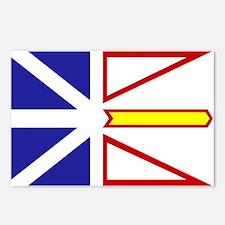 Newfoundland Flag Postcards (Package of