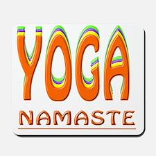 Yoga Namaste Mousepad