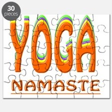Yoga Namaste Puzzle