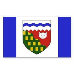 Northwest Territories Flag Decal