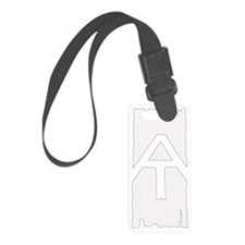 Appalachian Trail White Blaze Luggage Tag