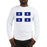 Quebec Flag Long Sleeve T-Shirt
