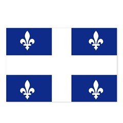 Quebec Flag Postcards (Package of 8)