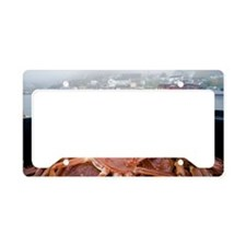 Snow crabs, Canada License Plate Holder