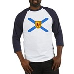 Nova Scotia Flag Baseball Jersey