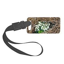 Snowdrop (Galanthus nivalis) Luggage Tag