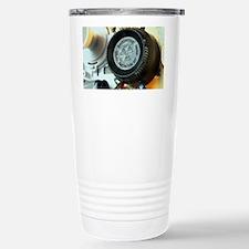 Smoke detector radiation source Travel Mug
