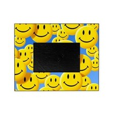 Smiley face symbols Picture Frame