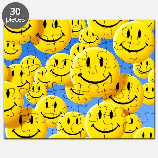 Smiley face symbols Puzzle