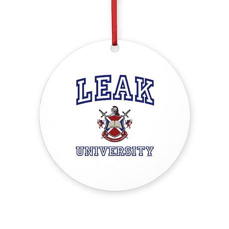 LEAK University Ornament (Round)