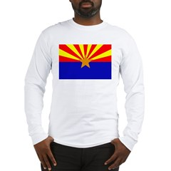 Arizona Flag Long Sleeve T-Shirt