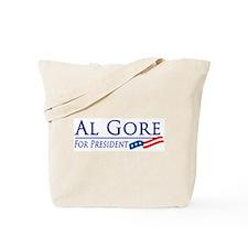 Al Gore for President Tote Bag