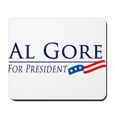Al Gore for President Mousepad