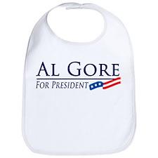 Al Gore for President Bib