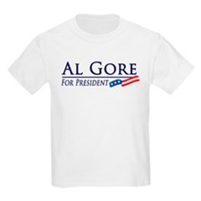 Al Gore for President Kids T-Shirt