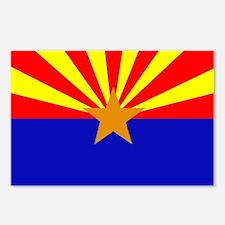 Arizona Flag Postcards (Package of 8)