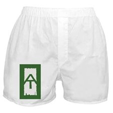 Appalachian Trail White Blaze Boxer Shorts