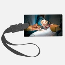 Slipped disc microendoscopy surg Luggage Tag