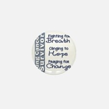 Breathe-Hope-Change Lung Cancer Surviv Mini Button