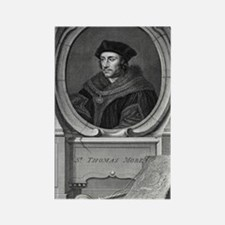 Sir Thomas More, English statesma Rectangle Magnet