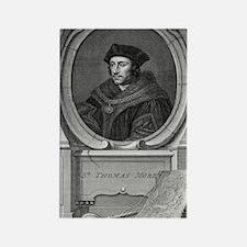Sir Thomas More, English statesma Rectangle Magnet