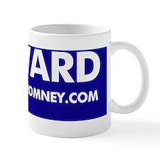 Official Dogs Against Romney FURWARD bu Small Mug