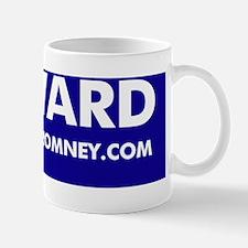 Official Dogs Against Romney FURWARD bu Small Small Mug