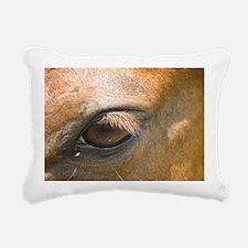 Eye of the Gelding Rectangular Canvas Pillow