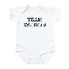 Team INJURED Infant Bodysuit